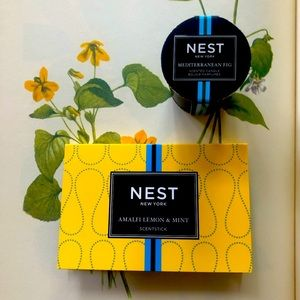 Nest travel candle and diffuser